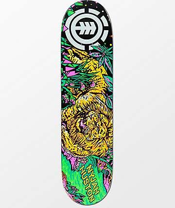 "Element Nyjah Bright Night 7.75"" Skateboard Deck"