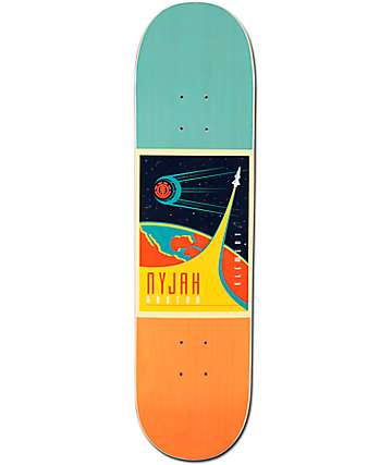 "Element Nyjah Cosmonaut Helium Featherlight 8.0"" Skateboard Deck"