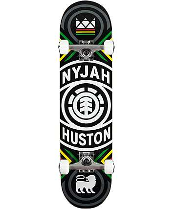 "Element Nyjah Crossed 7.75"" Skateboard Complete"