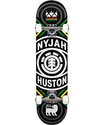 """Element Nyjah Crossed 7.75"""" Skateboard Complete"""