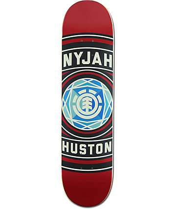 "Element Nyjah Iron 7.75"" Skateboard Deck"