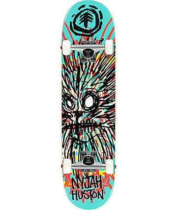 "Element Nyjah Lion FOS 7.6"" Skateboard Complete"