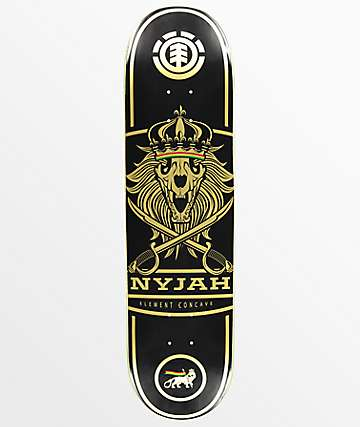 "Element Nyjah Procave Lion 8.1"" Skateboard Deck"