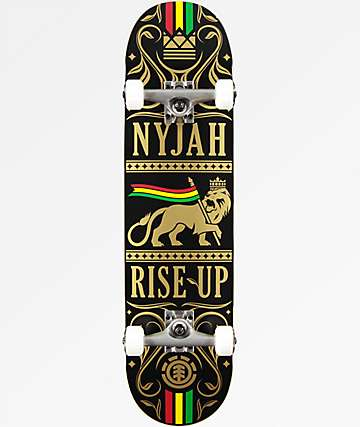 "Element Nyjah Rise Up 8.0"" Skateboard Complete"