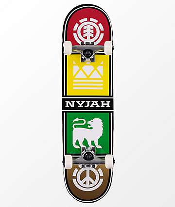 "Element Nyjah Squad Twig 7.6"" Skateboard Complete"