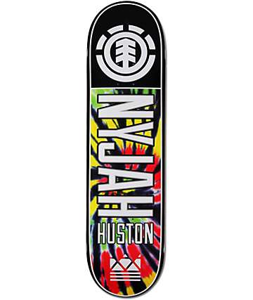"Element Nyjah Tie Dye 2 8.25"" Skateboard Deck"
