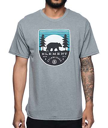 Element Pines Heather Grey T-Shirt
