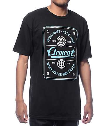 Element Pressure Black T-Shirt