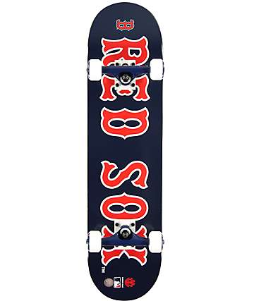 "Element Red Sox 7.75""  Complete Skateboard"