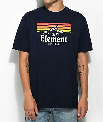Element Ridge Navy T-Shirt