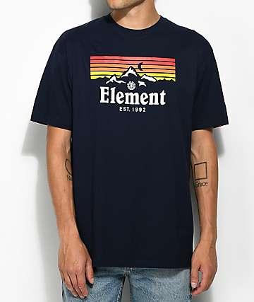 Element Ridge Navy T-Shirt