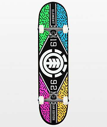 "Element River Camo 7.5"" Skateboard Complete"