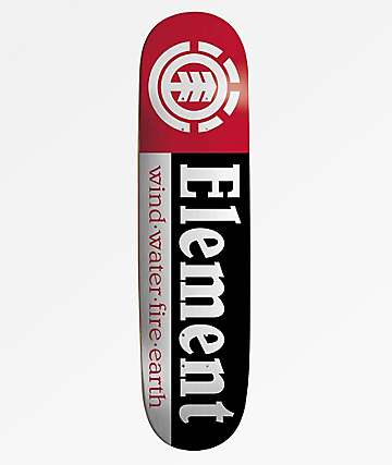 "Element Sections 7.75"" Skateboard Deck"