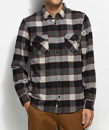 Element Tacoma 2.0 Flint Black Flannel Shirt