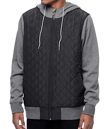 Element Tadler Flint 2fer Black Jacket