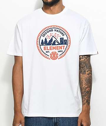 Element Teton White T-Shirt
