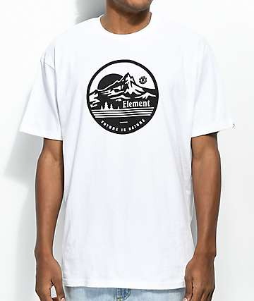 Element Travels White T-Shirt