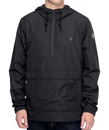 Element Trevor Black Anorak Jacket