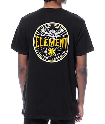 Element Trooper Black T-Shirt