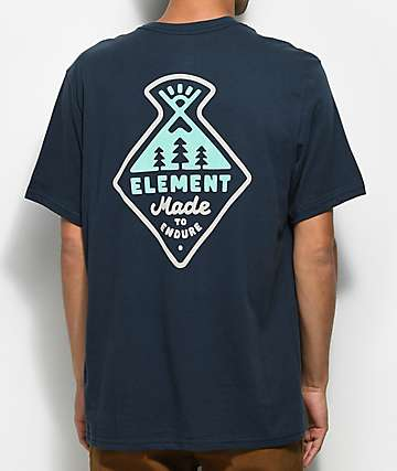 Element Vertex Eclipse Navy T-Shirt