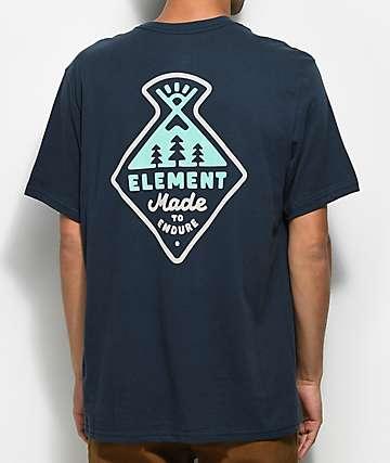 Element Vertex Eclipse Navy T-Shirt