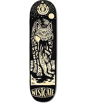 "Element Westgate Stalker 8.25"" Skateboard Deck"