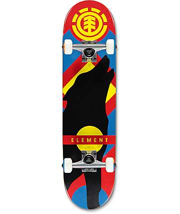 "Element Wolf Twig 7.625"" Skateboard Complete"
