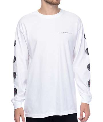 Element Zygote White Long Sleeve T-Shirt