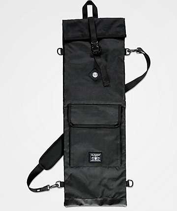 Element bolsa de skate negro repelente al agua