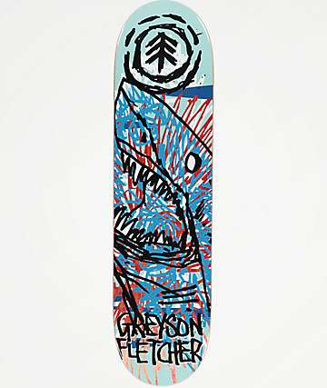 "Element x FOS Greyson Shark 8.1"" Skateboard Deck"