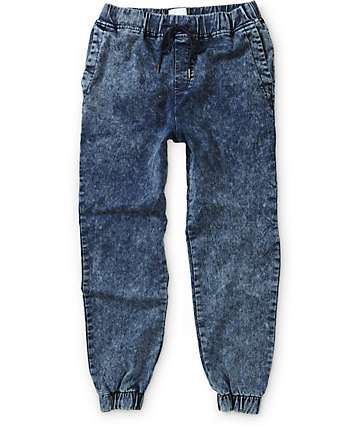 Elwood Acid Wash Jogger Pants