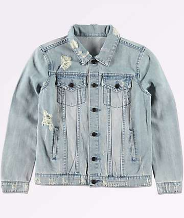 Elwood Boys Trucker Light Blue Denim Jacket