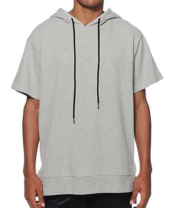 Elwood French Terry Short Sleeve Hoodie