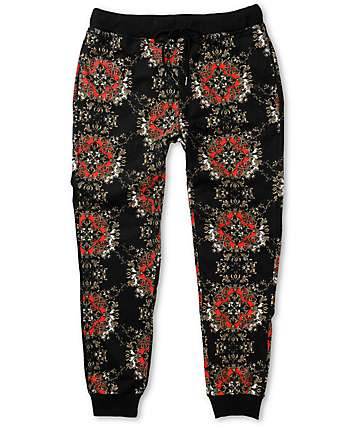 Elwood Gold Medallion Jogger Pants