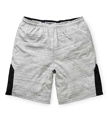 Elwood Marled Terry Basketball Shorts