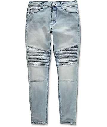 Elwood Moto jeans azules