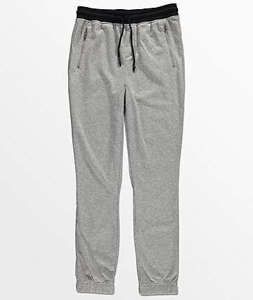 Elwood pantalones jogger en gris para niños
