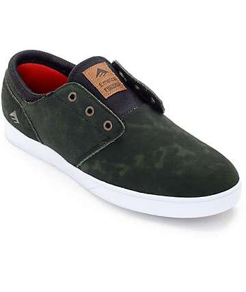 Emerica Figueroa X Made zapatos de skate en verde y negro