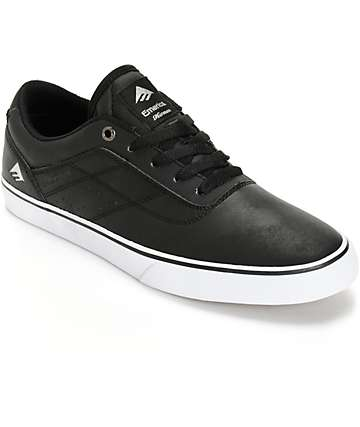 Emerica Herman G6 Vulc Vegan Leather Skate Shoes