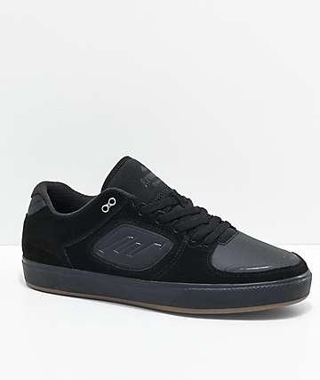 Emerica Reynolds G6 zapatos de skate de ante en negro y goma