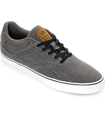 Emerica Reynolds Vulc zapatos de skate de mezclilla negra