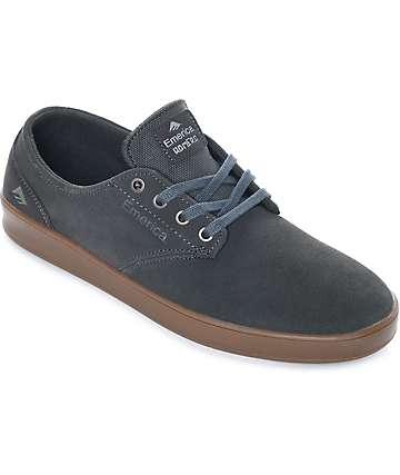 Emerica Romero zapatos de skate de ante en color plomo y goma