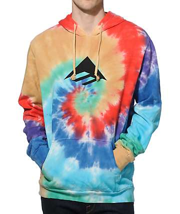 Emerica Tri Tripp Tie Dye Hoodie