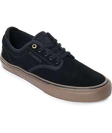 Emerica Wino G6 zapatos de skate de ante en negro y goma