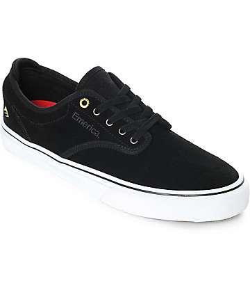 Emerica Wino G6 zapatos de skate en blanco y negro