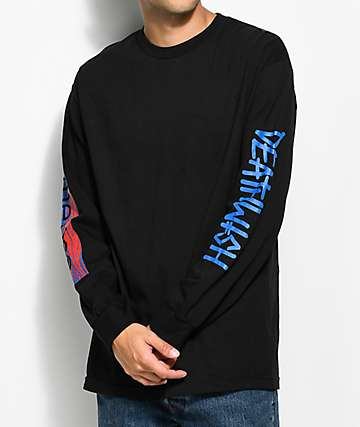 Emerica X Deathwish camiseta negra de manga larga