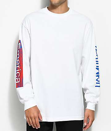 Emerica x Deathwish White Long Sleeve T-Shirt