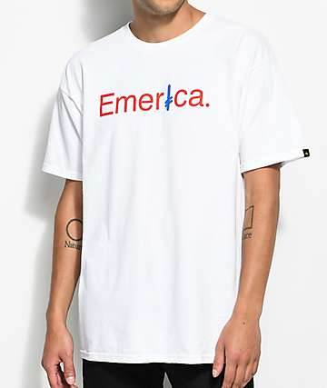 Emerica x Deathwish White T-Shirt