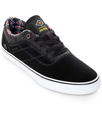Emerica x Psockadelic Herman G6 Black Black Skate Shoes