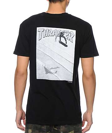 Emerica x Thrasher Reynolds Black T-Shirt